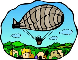 Jews for Jesus and the Gospel Blimp | Chutzpah, News, and Views